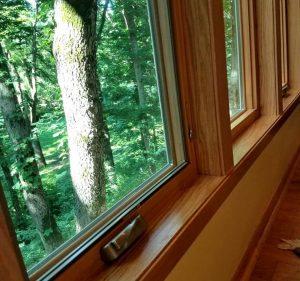 Custom window interior trim