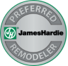 James Hardie Preferred Remodel
