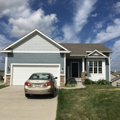 James Hardie pre-finished siding and shake in Urbandale Iowa